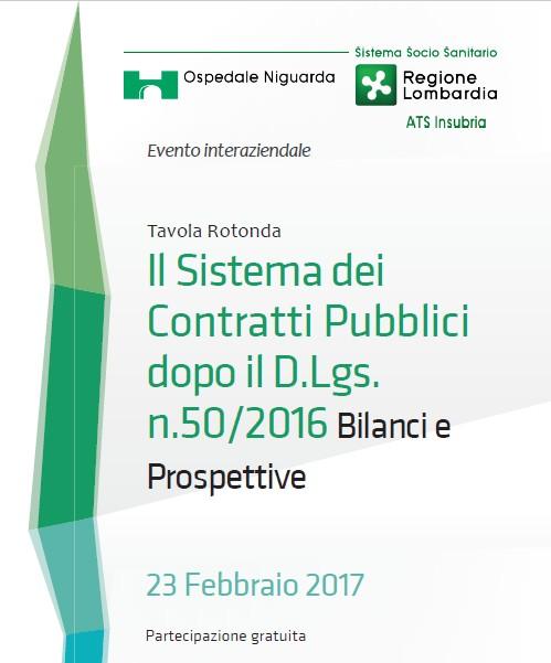 Il sistema dei contratti pubbl 23 febb 2017